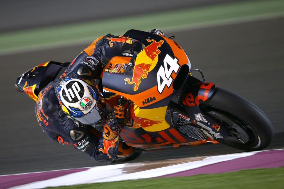 MotoGP Cac tay dua cua KTM Factory Racing da cam thay kha hai long du chua co diem