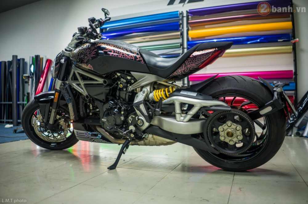 Ducati XDiavel ham ho hon trong ban do Tha Thu Rong Chau A - 2