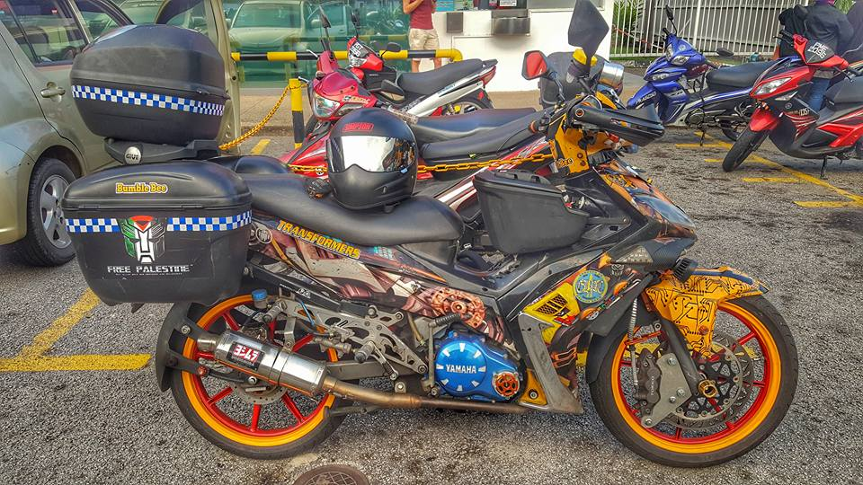 Exciter phien ban touring cua nuoc hang xom