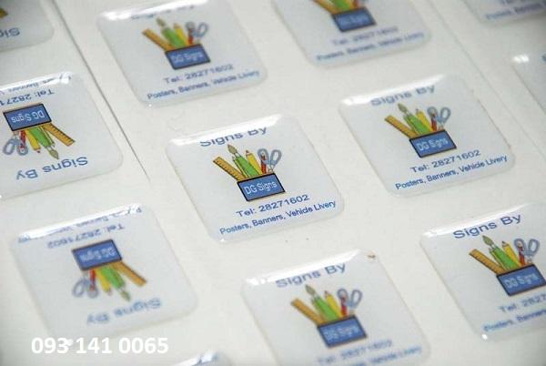 In Sticker Tem bao hanh Tem barcode so luong it - 6