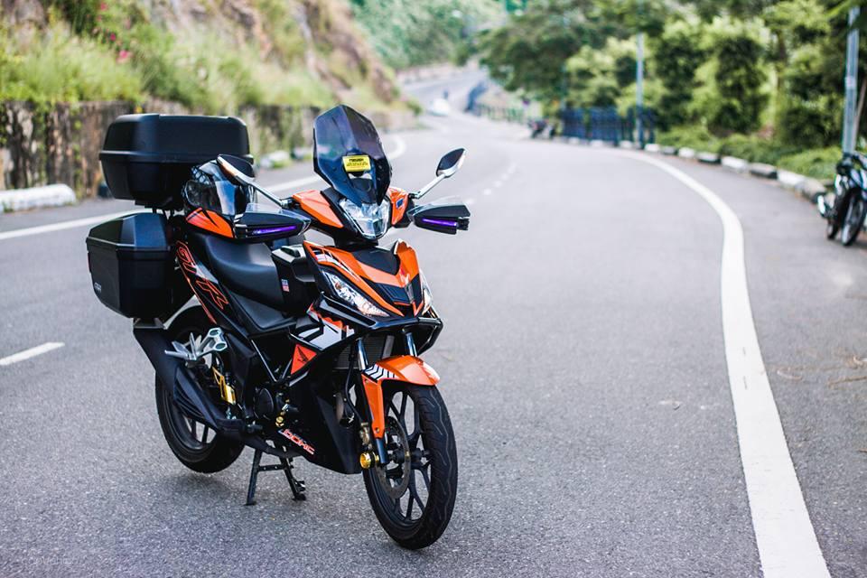 Winner 150 ban do dam chat touring cua dan choi Da Nang - 5