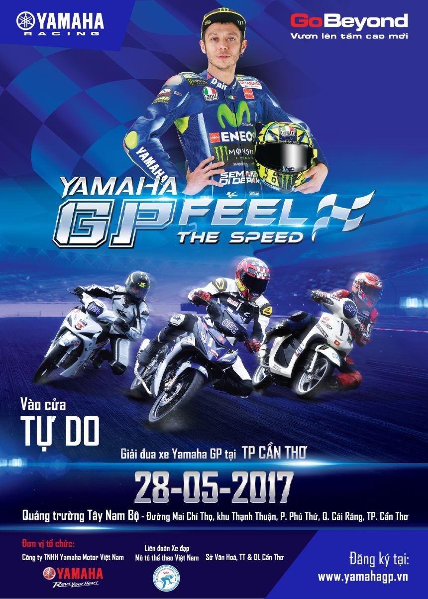 Yamaha to chuc giai dua xe Yamaha GP 2017