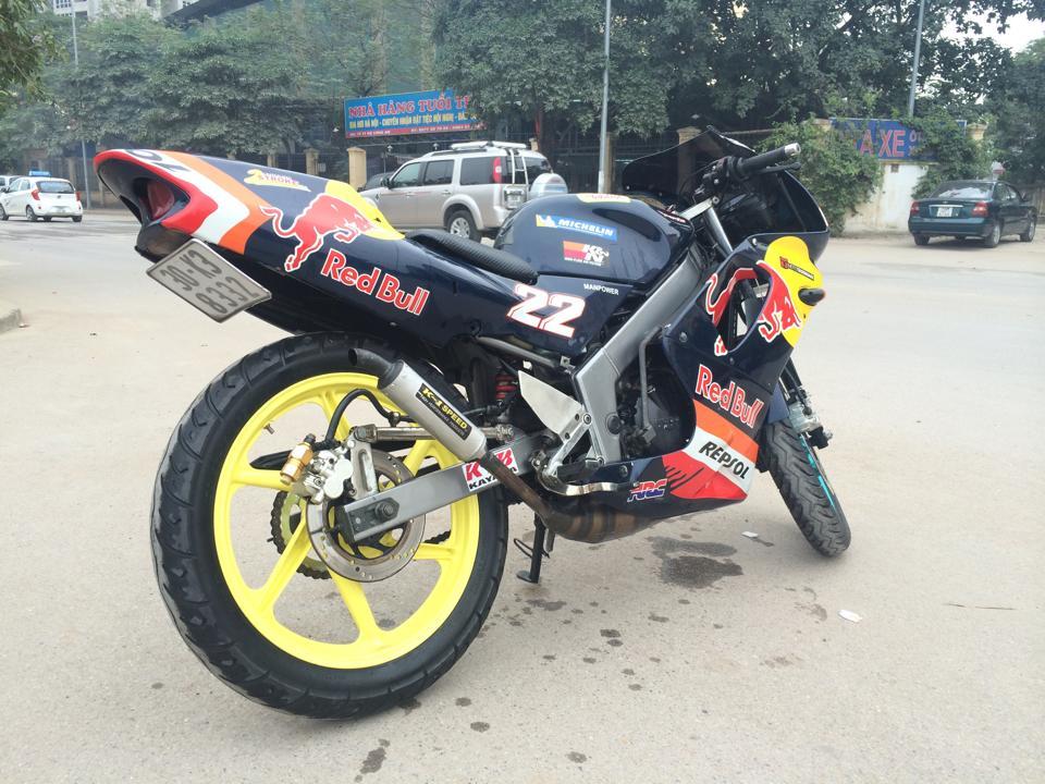 Chiec NSR 150 gau nhat Vinh Bac Bo - 2