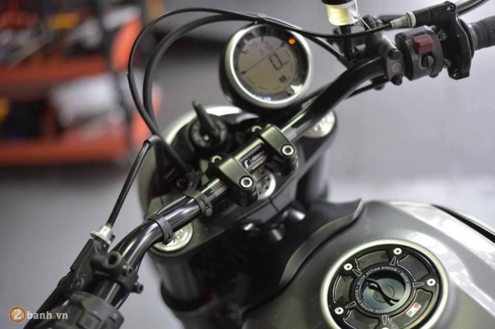 Ducati Scrambler chien binh hoai co lot xac day an tuong tu Mugello - 3