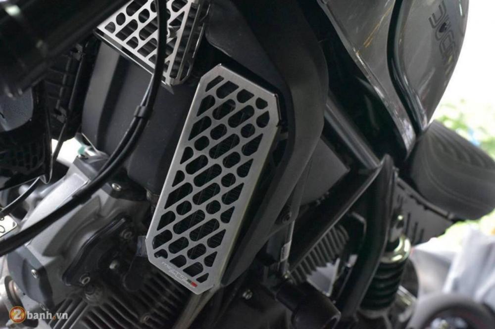Ducati Scrambler chien binh hoai co lot xac day an tuong tu Mugello - 7