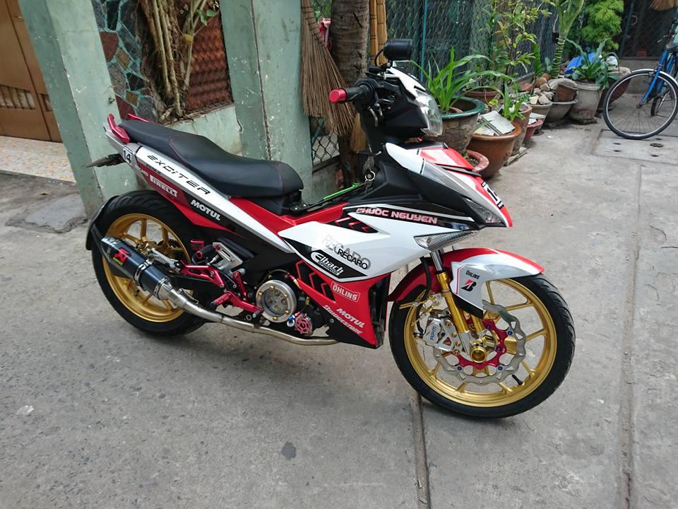 Exciter 150 ban do an tuong manh cua biker Binh Tan - 5