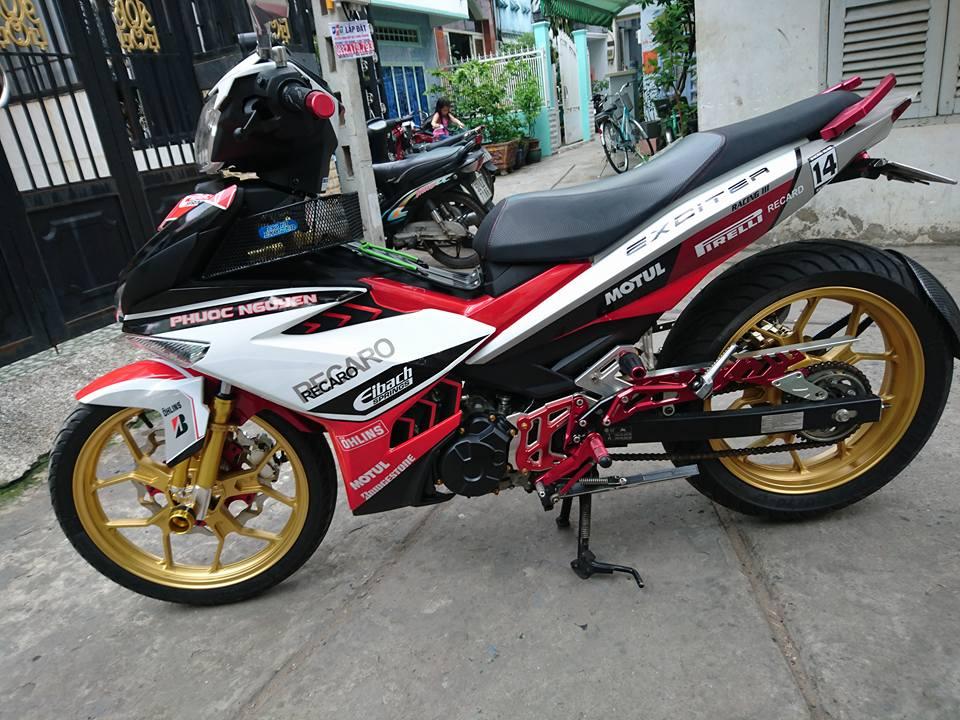 Exciter 150 ban do an tuong manh cua biker Binh Tan - 7