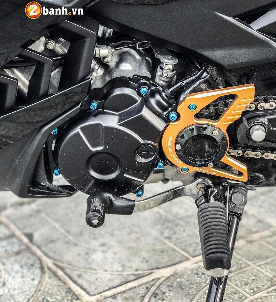 Exciter 150cc suc manh Carbon - 5