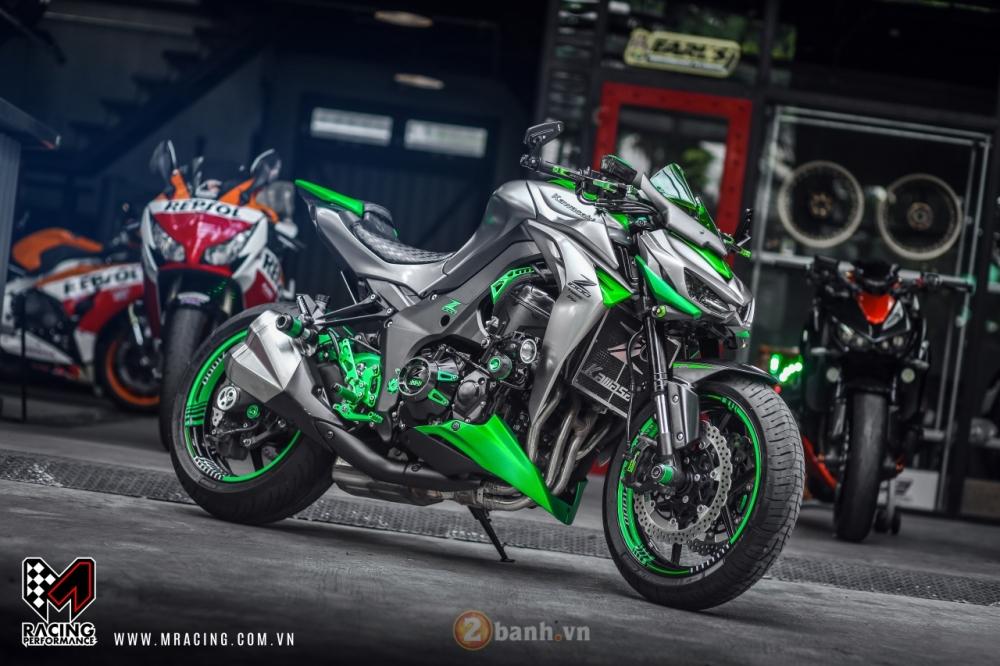 Kawasaki Z1000 hoa khoi lang moto co man lot xac an tuong tai VN - 2