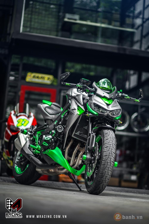 Kawasaki Z1000 hoa khoi lang moto co man lot xac an tuong tai VN - 3
