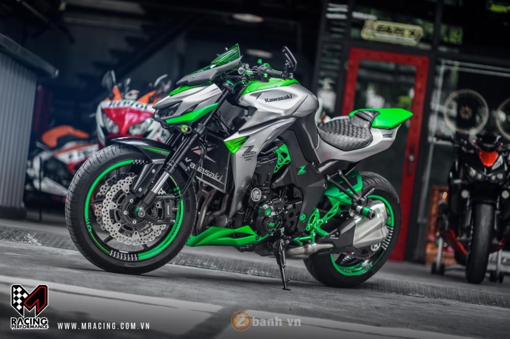 Kawasaki Z1000 hoa khoi lang moto co man lot xac an tuong tai VN - 7