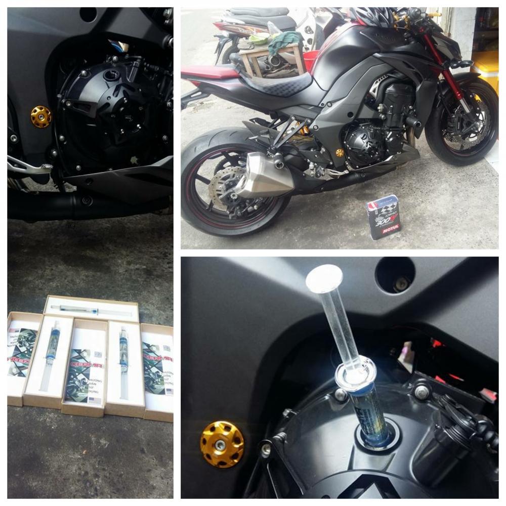 So sanh Honda MSX 125 Kawasaki Z125 - 5