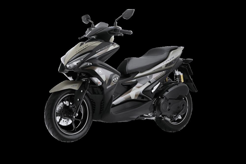 Yamaha NVX 155 Camo chinh thuc duoc ra mat voi gia tu 52690000 Dong - 3