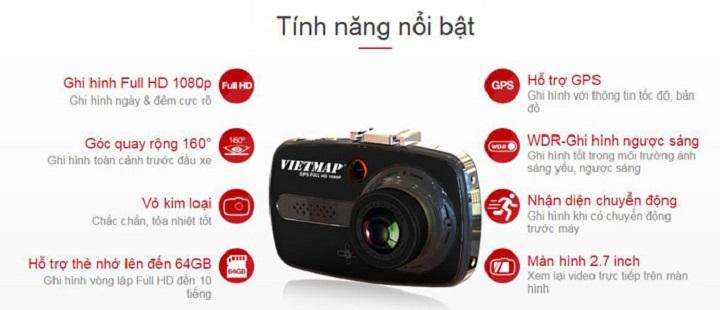 Ban camera hanh trinh Vietmap X9 gia re