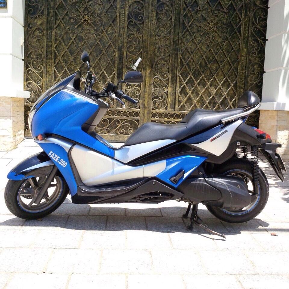 Ban Honda Faze 250 date 2012