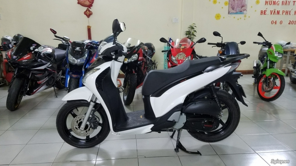 Ban Honda SH150i VN len Full SH150 Ydate 2016SmartkeySaigonngay chu