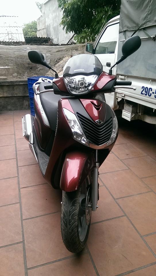 Ban xe Honda SH 150CC sporty do dun 2012 nhap cua Y - 3