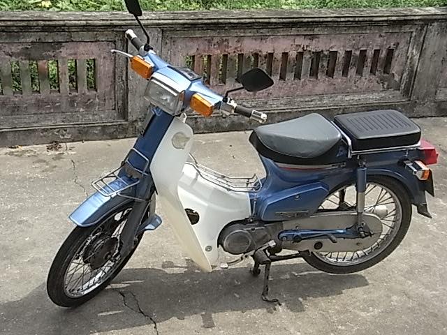 BAN XE MAY HONDA CUB 82 KIM VANG GIOT LE HOI 50CC