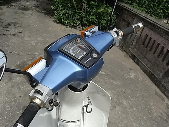 BAN XE MAY HONDA CUB 82 KIM VANG GIOT LE HOI 50CC - 3