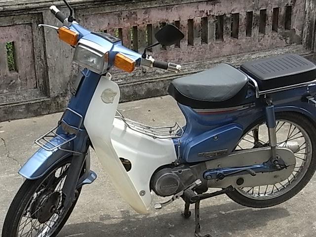BAN XE MAY HONDA CUB 82 KIM VANG GIOT LE HOI 50CC - 5