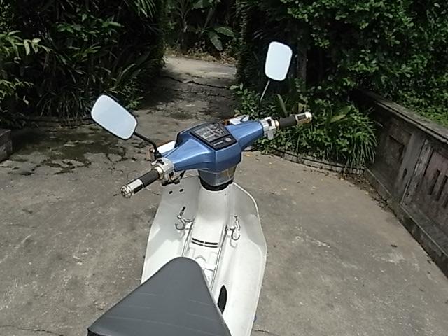BAN XE MAY HONDA CUB 82 KIM VANG GIOT LE HOI 50CC - 7