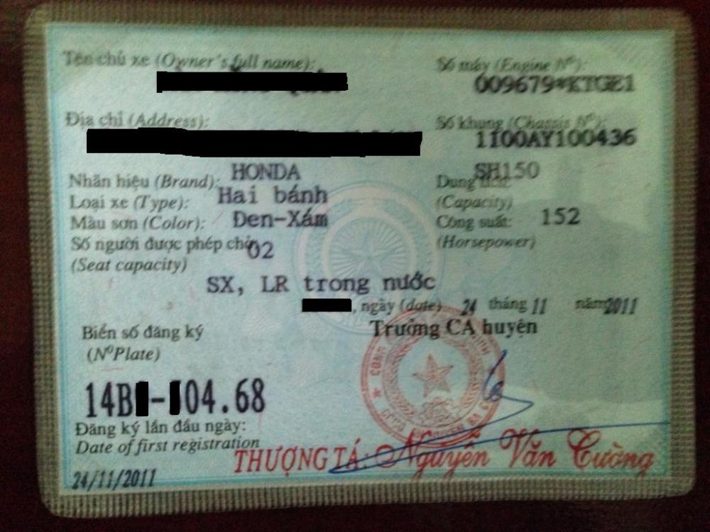Ban xe shvn 150cc mau den chinh chu doi 2011 - 5