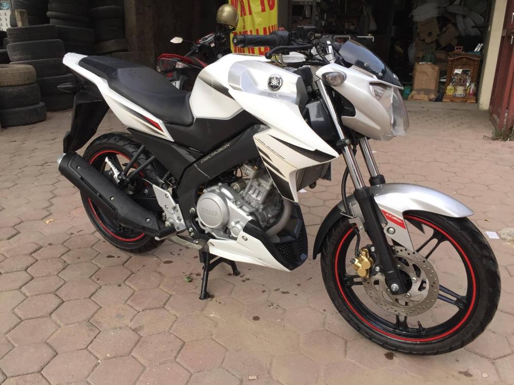 Ban Yamaha Fz150i Trang Xe dang ki 2014