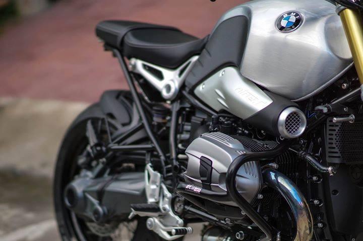 BMW R nineT thoi hon cong nghe hien dai trong than xac co dien - 7