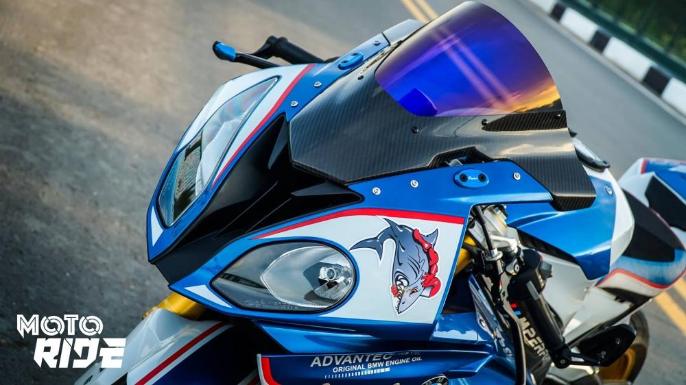BMW S1000RR ban do cang net tren tung chi tiet cua biker Viet - 3