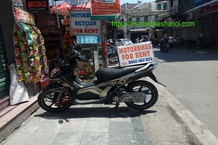 Dich vu cho thue xe may chat luong tai ha noi