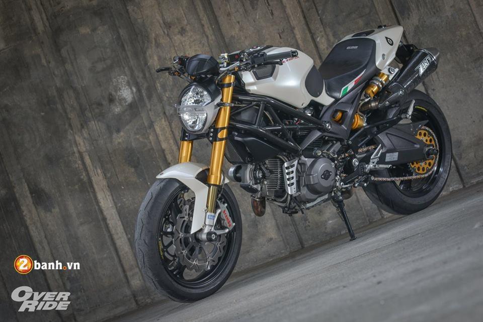 Ducati Monster 696 con quai thu huyen thoai cua nha Ducati