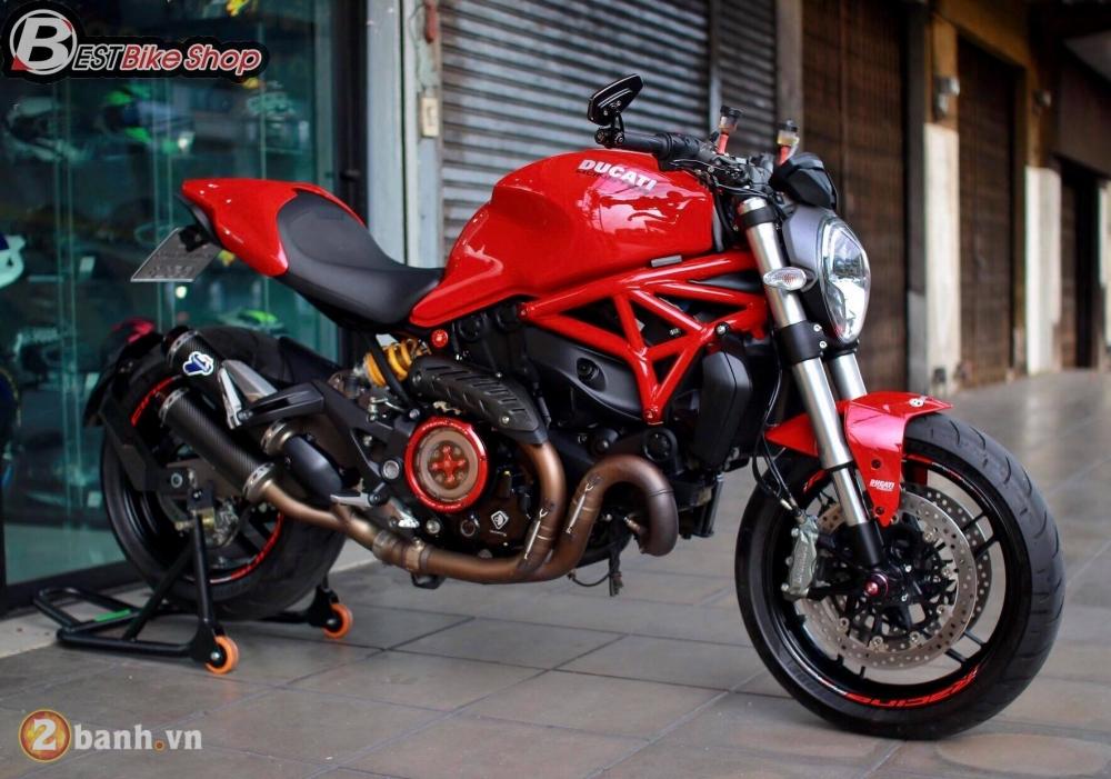 Ducati Monster 821 phong thai nguyen ban nhung khong he don gian