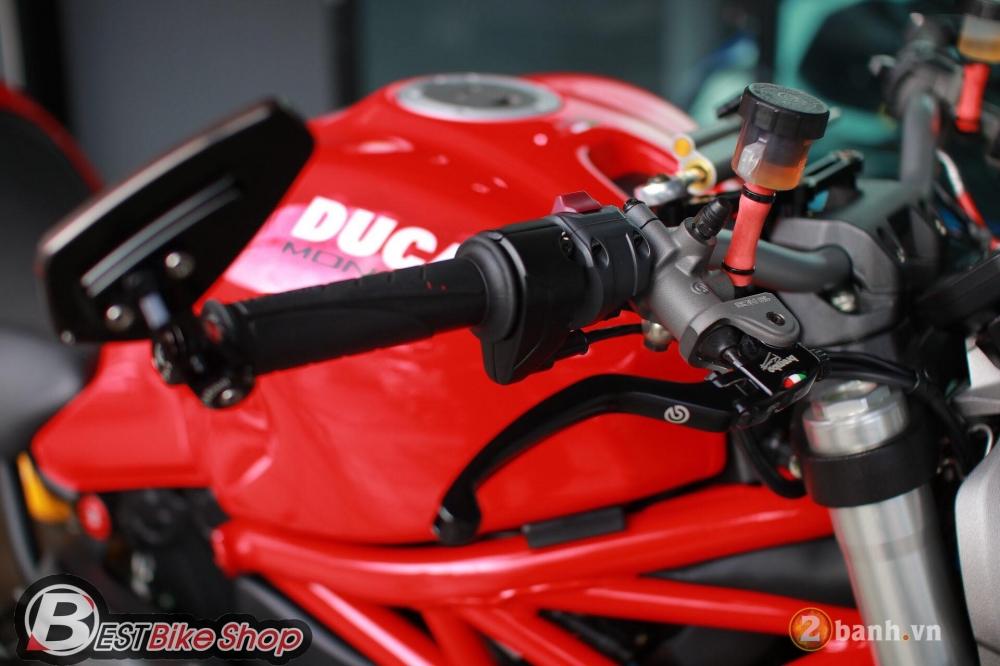 Ducati Monster 821 phong thai nguyen ban nhung khong he don gian - 3