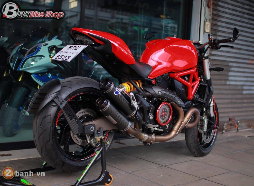 Ducati Monster 821 phong thai nguyen ban nhung khong he don gian - 11