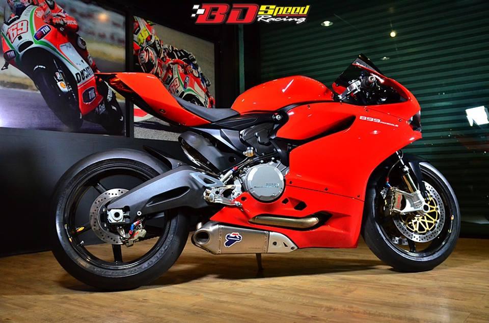 Ducati 899 Panigale lot xac cuc chat trong ban do FULL OPTION - 11