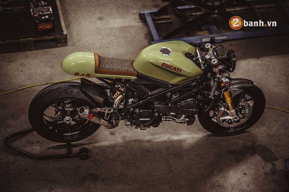 Ducati streetfighter 848 pha cach trong ban do Cafe Race - 5