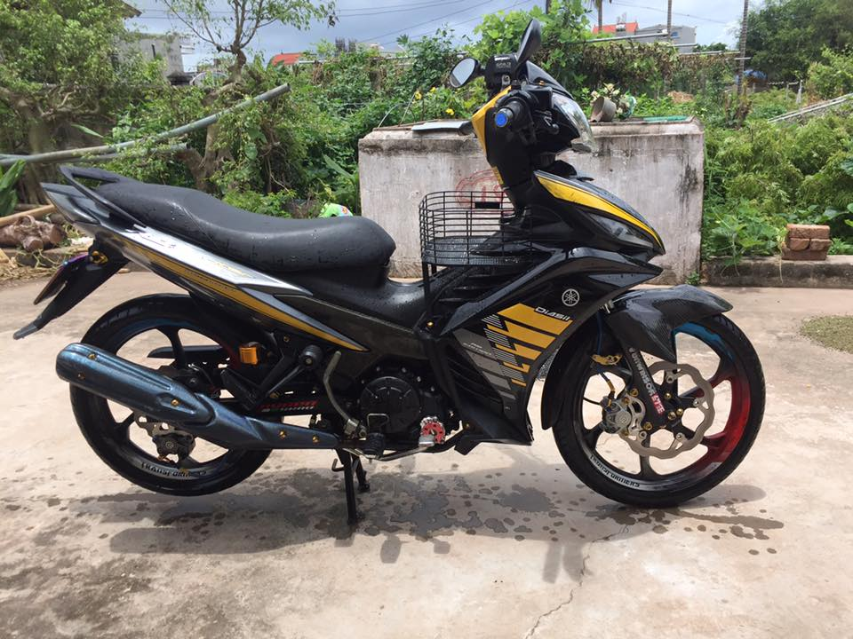 Exciter 135 kieng nhe dam chat dan choi cua biker Nam Dinh