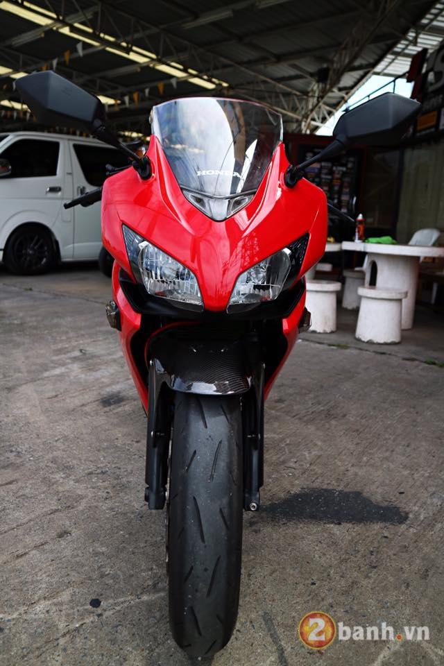 Honda CBR500R chu Bo moi lon day an tuong voi su nang cap dot pha - 2