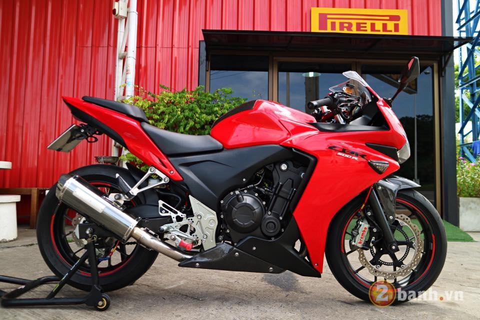 Honda CBR500R chu Bo moi lon day an tuong voi su nang cap dot pha - 12