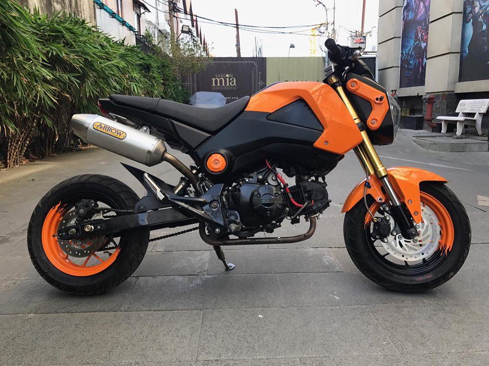 Honda MSX 125cc phien ban con loc cam cung cap