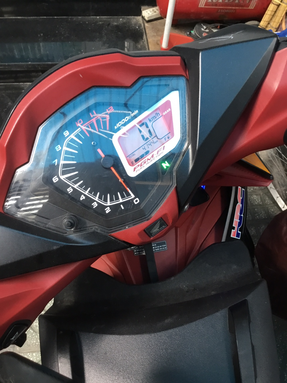 Honda Winner DK 012017 ODO 4KBien SG 1 doi chinh chu Zin 100