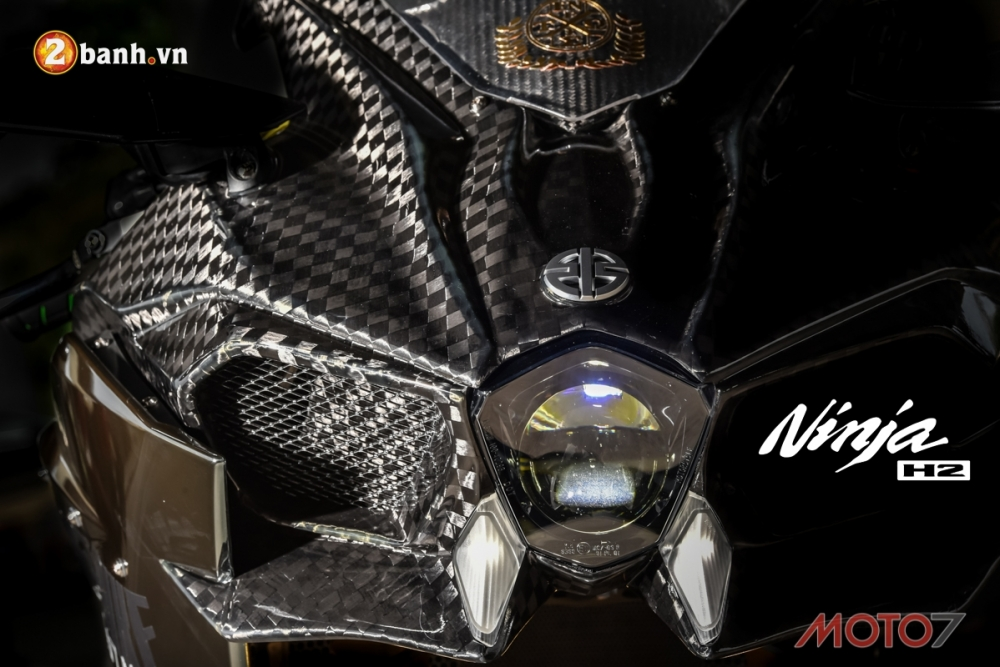 Kawasaki H2 sieu pham Ninja Full Carbon fiber
