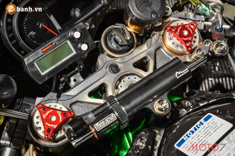 Kawasaki H2 sieu pham Ninja Full Carbon fiber - 3