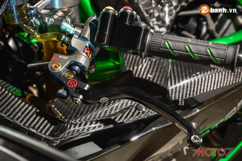 Kawasaki H2 sieu pham Ninja Full Carbon fiber - 5