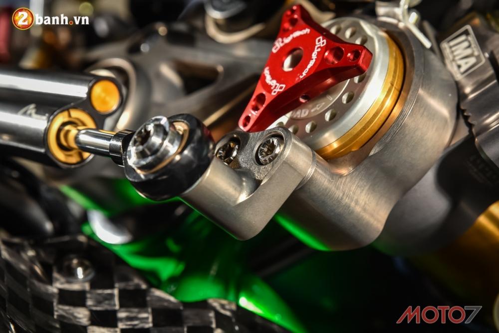 Kawasaki H2 sieu pham Ninja Full Carbon fiber - 7