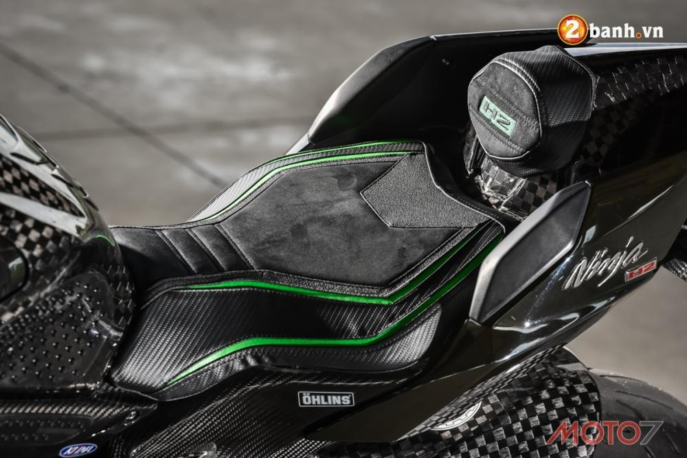 Kawasaki H2 sieu pham Ninja Full Carbon fiber - 9