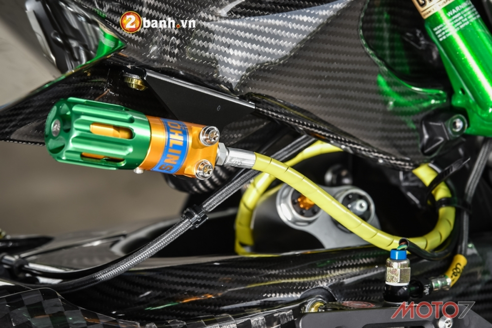 Kawasaki H2 sieu pham Ninja Full Carbon fiber - 15