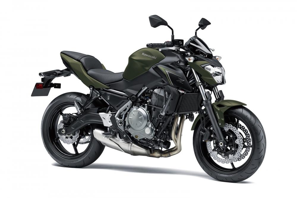 Kawasaki Ninja 650 va Z650 chuan bi trinh lang mau moi - 7