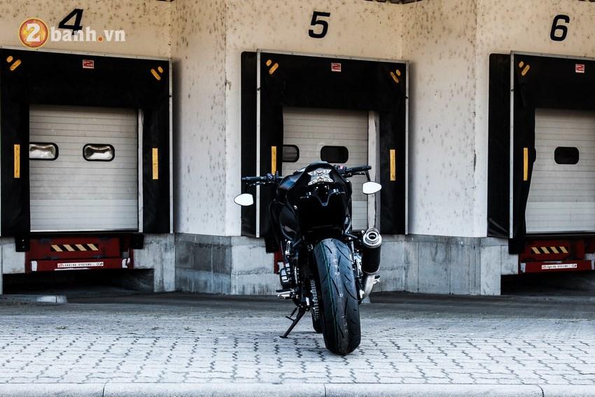 Kawasaki Z900 chu te giac bi chay nang - 3