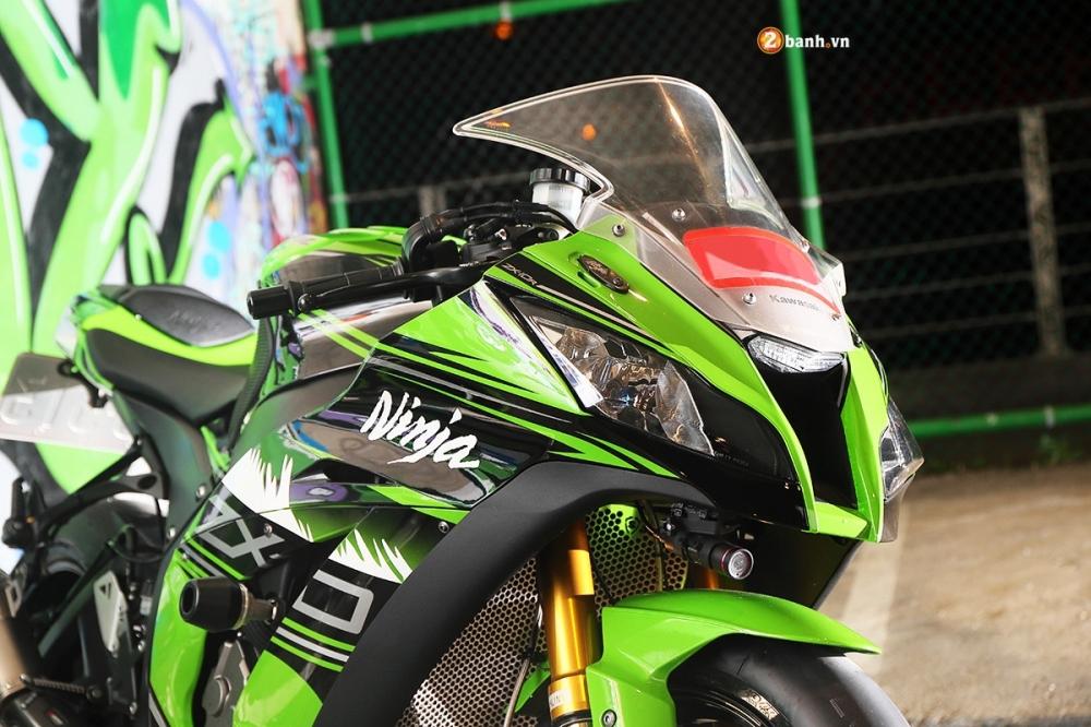 Ninja ZX10R ao dieu trong buc anh suong khoi huyen bi - 5